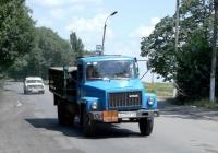 Автомобиль КТ-602 на шасси ГАЗ-3307 следует к газонаполнительному пункту. #АН 9723 СР. Донецкая область, г. Снежное