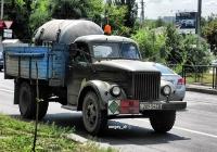 Автомбиль ГАЗ-51А с установкой для перевозки жидкого азота. #209-54 ЕВ. Донецк