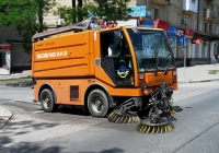 Машина уборочная CityCat 5000 . Донецк, проспект Ватутина