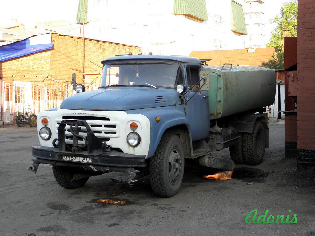 Поливомоечная машина КО-002 на шасси ЗиЛ-431412. #0187 ТАО. Ташкент