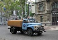 Поливомоечная машина КО-829 на шасси ЗиЛ-431412  #472-96 ОВ. Одесса, улица Пушкинская