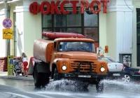 Поливомоечная машина КО-003 на шасси ЗиЛ-431612. #3039 ЧВЛ. Черновцы, Университетская улица