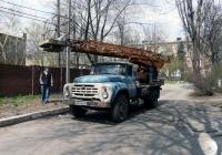 Автоподъёмник АП-17А на шасси ЗиЛ-431412. #АН 0398 ВК. Донецкая область, г. Макеевка