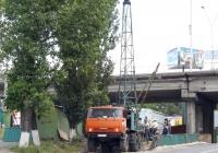 Буровая установка УРБ-2,5А. #АА 1061 IC. Киев, Железнодорожное шоссе