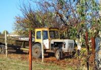 Трактор на садово-огородном участке. Одесская область, Раздельнянский район, c. Отрадово