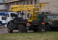 Автоподъёмник ВС-22-01РГ на шасси КамАЗ-4326.  Киев, улица Сивашская