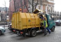Бункерный мусоровоз SK-2 на шасси малотоннажного грузовика Lublin 3Mi. Krakow, ul.Grodzka