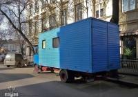 Фургон на шасси Mercedes-Benz LP* #145-95 ТС. Львов, улица Низкий Замок