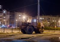 Каток статический трёхвальцовый СД-802 на базе трактора Т-150К. Ивано-Франковск, улица Джохара Дудаева