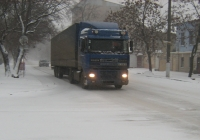 Седельный тягач DАF 95XF #ВІ 8268 АМ. Николаев, Никольская улица