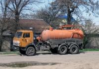 Илососная машина КО-507А на шасси КамАЗ-53213 #ВЕ 3774 АА. Николаев, улица Терновская