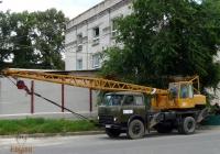 Автомобильный кран КС-3562А на шасси МАЗ-500А #141-18 КМ. Киев, Железнодорожное шоссе