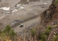 Трактор серии ЮМЗ-6* с бульдозерным отвалом. Житомирская область, Малинский гранитный карьер