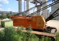 Кран Hitachi KH500L на строительстве мостов через Днепр.. Запорожье, остров Хортица