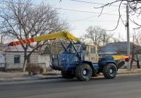 Бурильно-крановая установка на базе трактора Т-150К #432-55 ВЕ. Николаев, улица Сивашской Дивизии