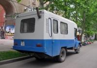 Вахтовый автомобиль на шасси ГАЗ-3307* #078-67 НК  . Николаев, ул.Советская