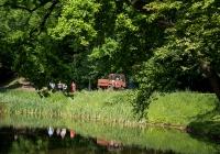 Самоходное шасси СШ-2540 #00470 КС. Киев, Голосеевский парк им. Максима Рыльского