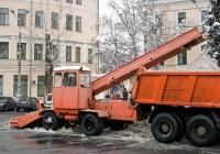 Погрузчик КО-206А #03647 КС. Киев, Контрактовая площадь