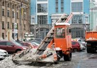 Погрузчик КО-206А. Киев, Контрактовая площадь