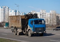 Ломовоз на шасси МАЗ-6303 #АЕ 6773 ЕХ. Киев, проспект Николая Бажана
