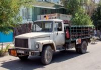 Машина для перевозки баллонов со сжиженным газом КТ-602 на шасси ГАЗ-3307*. Одесская область, Затока, Лазурная улица