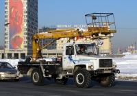 Автоподъёмник АПТ-14 (КЭМЗ) на шасси ГАЗ-3308 #В 631 МА 98. Россия, Санкт-Петербург, площадь Победы