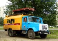 Автоподъёмник для ремонта контактной сети на шасси ЗиЛ-433362 #Х 296 ОО 57. Орёл, Комсомольская улица