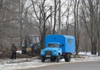 Аварийная машина горводоканала на базе ГАЗ-53-27 с КУНГом. Приднестровье, Тирасполь, Одесская улица