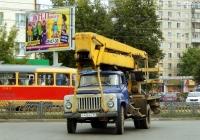 Автоподъёмник АГП-18 на шасси ГАЗ 53-12 #Т 416 АС 57. Орёл, Комсомольская улица