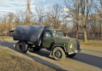 Подметально-уборочная машина КО-304 на шасси ГАЗ-53*. Николаев, улица Акима