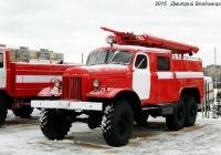 Пожарный автомобиль АЦП-30(157)-27 на шасси ЗиЛ-157КЕ. Орёл, Полесская улица