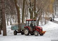 Трактор Foton 354. Киев, Голосеевский парк им. Максима Рыльского