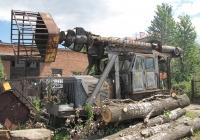 Телескопическая вышка ВТ-26М на базе трактора Т-100М. Львов, ул. Николая Пимоненко
