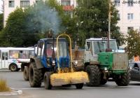 """Бурильно-крановая машина БМ-205В на базе МТЗ-82* """"Беларусь"""" и трактор Т-150К. Орёл, Маслозаводской переулок"""