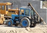 Бурильно-крановая машина БМ-205В на базе трактора МТЗ-82 #Т 0844 КМ. Севастополь