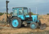 Бурально-крановая машина БМ-205В на базе трактора МТЗ-82. Севастополь