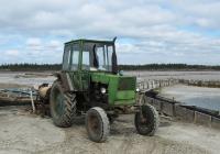 Трактор ЮМЗ-6* с установкой для откачки воды. Херсонская область, Кинбурнская коса