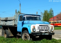 Бортовой грузовик ЗиЛ-431410 #К 571 НВ 57. Орёл, улица Пушкина
