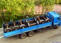 Бортовой грузовик КамАЗ-65117. Орёл, Старопривокзальная улица