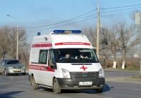 Автомобиль скорой медицинской помощи Нижегородец-22270G на базе Ford-Transit, #С 397 НК 34. Волгоград, Лазоревая улица