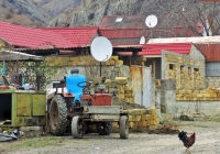 Трактор Т-25 производства ХТЗ. Крым, Зеленогорье