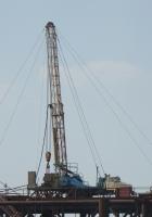 Установка подъемная УПА-60А на шасси КрАЗ-65101. Газовое месторождение в Черном море