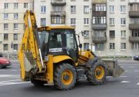 Экскаватор-погрузчик JCB 3CX #6504 РР 78. Санкт-Петербург, Краснопутиловская улица