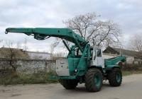 Бурильно-крановая машина БКМ-630 на базе трактора Т-150К. Николаев , улица Урожайная