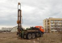 Буровая установка ПБУ-2 на шасси КамАЗ-43114 #В 011 РС 161. Севастополь
