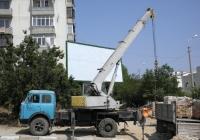 Кран КС-3571 на шасси МАЗ-5334 #2156 КРО. Севастополь