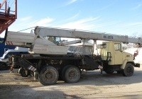 Кран КС-3575А-1 на шасси КрАЗ-65101. Севастополь