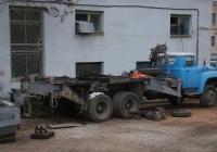 Кран КС-3575А на шасси ЗИЛ-133ГЯ #8607 КРП в процессе ремонта. Севастополь