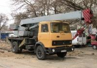 Кран КС-3577-3 на шасси МАЗ-5337 #ВЕ 6496 ВВ. Николаев , улица Комсомольская