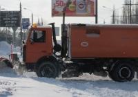 Коммунальная машина Bucher Schörling Cityfant 60 на шасси МАЗ-5337 (шасси). Николаев, проспект Ленина